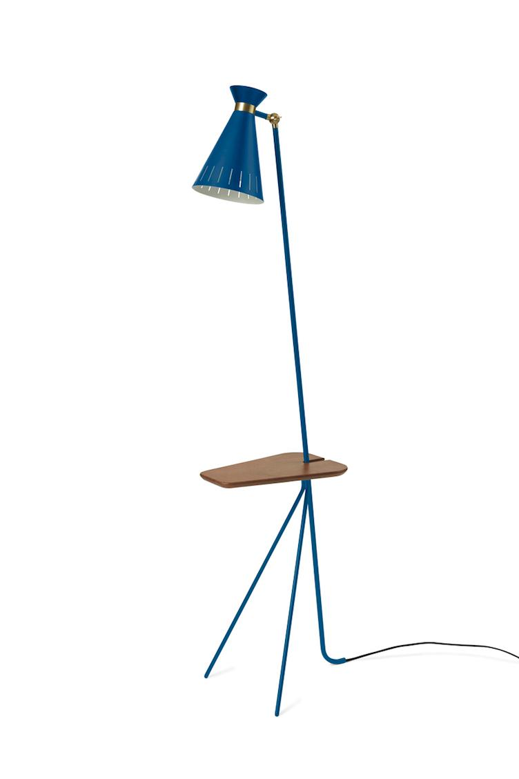Cone | floor lamp with table - 1